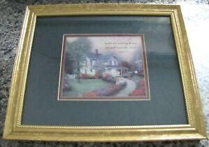 Thomas Kinkade Country Living 5 x 7 Framed Brushwork Brandy Frame