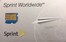 Sprint Micro 3FF SIM Card SIMGWW216R NEW FOR ACTIVATION SPRINT A1387 iphone 4s