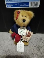 Boyds Bears Plush Ornament- Cheerleader Bear - Perky P Rally