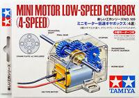 Tamiya 70189 Mini Motor Low Speed Gearbox (4-Speed)