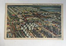 Vintage Postcard Magnolia Petroleum Oil Company Beaumont TX Photograph