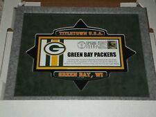 Titletown Green Bay Packers Postal Service Limited Edition Framed Envelope