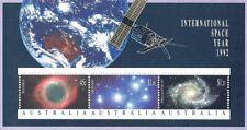 Australia (Scott 1260A) - 1992 International Space Year - (Souvenir Sheet) - Mnh