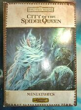 City of the Spider Queen Miniatures Forgotten Realms Dungeons & Dragons !!  s116