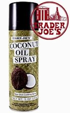 Trader Joes Coconut Oil Spray 5 oz. each Baking Cooking-FREE SHIPPING IN USA