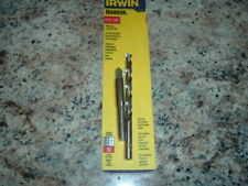 "IRWIN 80235 PLUG TAP & DIE DRILL BIT SET 5/16""-18 NC HIGH CARBON SAVE MORE U BUY"