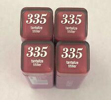 (4) Covergirl Colorlicious Lipstick, 335 Tantalize