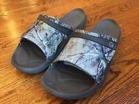 Crocs Mens Realtree Modi Sport Max-5 Slide Sandals Size 8 Camo