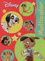 Multicolor Malbuch - 101 Dalmatiner, Pinocchio von Disney Enterprises #598216