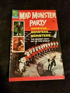 1967 Dell Comics Silver Age MAD MONSTER PARTY Movie Comic Book Photo Cover
