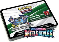 50x Battles Styles Unused Pokemon Online Booster Codes In Hand Emailed