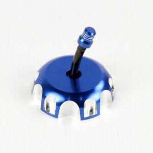 Blue Billet Gas Fuel Tank Cap CoverFit For Suzuki  LT-F250 Ozark/LT-R450