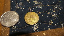 Vintage GAME TOKEN Maison Ritz, One Free Game