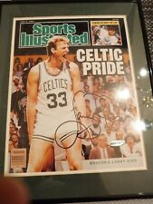 LARRY BIRD Upper Deck Holo UDA AUTOGRAPH CELTIC PRIDE SPORTS ILLUSTRATED COVER