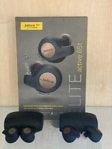 Jabra Elite Active 65tT Wireless Sports Earbuds - Titanium Black