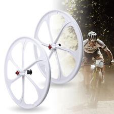 26 Inch Front&Rear Mag Wheel Kit 7/8/9/10 Speed for Mountain Bikes,Folding Bike