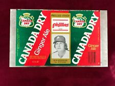 mid 70's Vintage Canada Dry Aluminum Proof RON SCHUELER *Phillies (SC1)