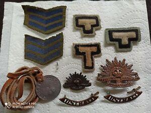 WW2 Australian Rats of Tobruk Badges