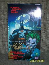 SkyBox Batman Master Series trading cards