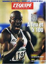 L'EQUIPE MAGAZINE  N°799 1997  donovan bailey  boxe mohammed ali la saga (2)