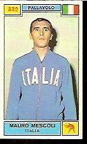 FIGURINE CAMPIONI DELLO SPORT 1969/70-332-MESCOLI MAURO