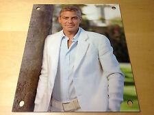 New - Placa Expositor Plaque Display OMEGA George Clooney Nicole Kidman - Large