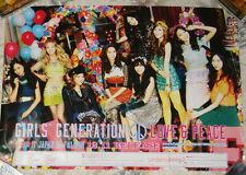 Girls' Generation LOVE & PEACE 2013 Taiwan Promo Poster