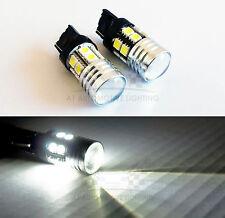 7440 992A W21W White Cree Q5 LED Bulbs 12 SMD 5050 7W Backup Reverse Light