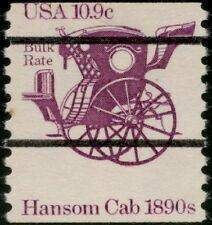"""#1904 Var. """"10.9¢ Hansom Cab"""" C.O.D. Miscut Error Bp9832"""