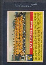 1956 Topps #114 Los Angeles Rams Team VG/EX *495