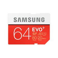 Samsung EVO 64gb SDXC Card 80mb/s