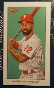 2021 Topps T206 wave 2, Andrew McCutchen - Sovereign Parallel - Phillies