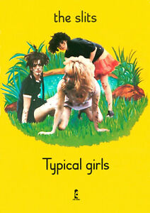 """THE SLITS, Typical Girls, 12"""" x 17"""" Promo Poster, 1979, PUNK ROCK"""
