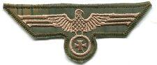WWII German Heer Army Breast Eagle Iron Cross Tan & Water Camo Sumpfmuster