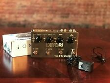 TC Electronic Guitar Pedal Ditto X4 Looper Dual Track Star Jam Professional