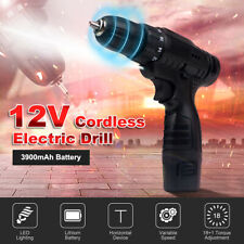 12V Cordless Drill Max 19Nm 3/8