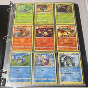 Pokemon Card 1st Generation 151/150 Complete Pokedex Set Collection Binder Lot E