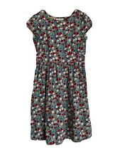 Seasalt 14 Dress Briarfield Cotton Wild Flower Design Cap Sleeve