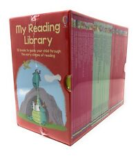 Usborne My Reading Library 50 Books Gift Set Collection Level 3 to 6