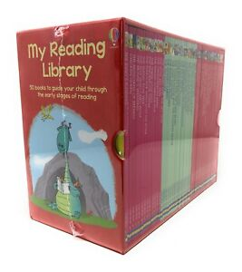 Usborne My Second Reading Library 50 Books Set Collection Pack Early Level 3 & 4