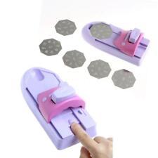 6Pcs Nail Art DIY Printing Machine UV Gel Polish Stamp Pattern Template Set X5M3