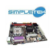 SCHEDA MADRE MICRO-ATX G41 LGA 775 DDR2 DDR3 INTEL RS232 VGA PARALLELA SERIALE-