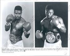 1992 Boxing HoF Terry Norris & Olympic Gold Medal Meldrick Taylor Press Photo