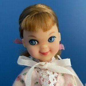 Vintage Barbie TUTTI NIGHT NIGHT SLEEP TIGHT Gift Set  #3553 HTF BED+BEDSPREAD!!