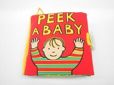 Jollybaby  Soft Cloth Books, PEEK A BYE BABY-NIP