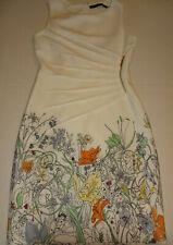 IVANKA TRUMP FITTED SHEATH FLORAL DRESS SIZE 2