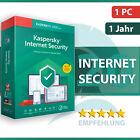 Kaspersky Internet Security 2021 1 PC (Gerät) 1 Jahr - Aktivierungscode <br/> SOFORTVERSAND ✔️ RECHNUNG ✔️ DOWNLOAD ✔️ SUPPORT ✔️