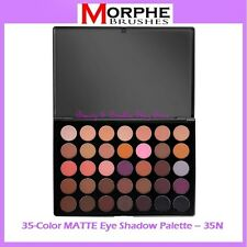 NEW Morphe Brushes 35-Color MATTE Eye Shadow Palette 35N FREE SHIPPING Neutral