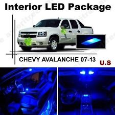 Blue LED Lights Interior Package Kit for CHEVY AVALANCHE 2007-2014 ( 9 Pieces )