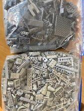 lego GREY bricks / pieces bundle job lot 2.320kg colour sorted